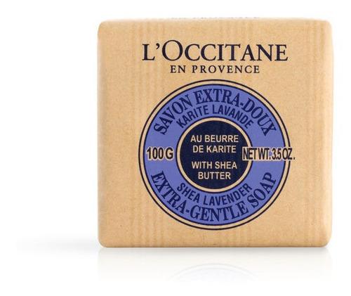 jabón karité lavanda- l'occitane