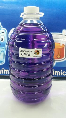jabon lavatrastes liquido uva concentrado p/ 20lt plim36