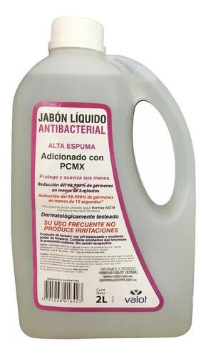 jabon liquido antibacterial con pcmx bidon 5lt valot oficial