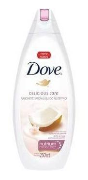 jabón líquido dove leche de coco 250ml.