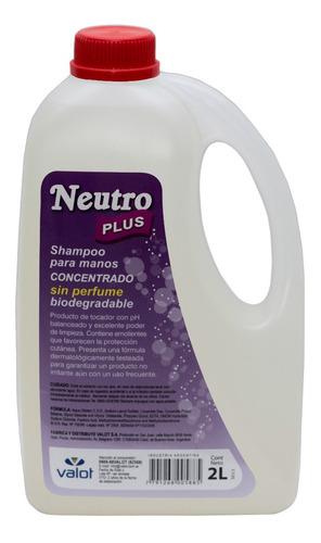 jabón líquido manos concentrado neutro 2lts   valot oficial