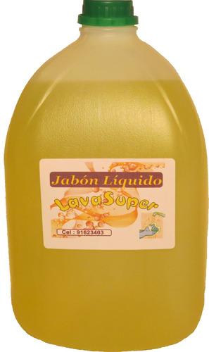 jabon liquido manos y cuerpo   lavasuper   bidon de 5 litros