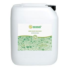Jabón Líquido Para Manos 20l, Biodegradable, Ecosol