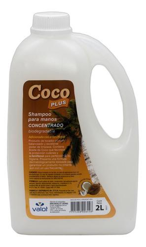 jabón líquido para manos concentrado coco 2lt valot oficial