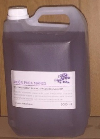 jabón liquido para manos x 5 litros - la plata - caballito