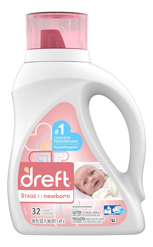 jabón líquido para ropa de bebes dreft