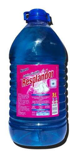 jabón liquido para ropa. resplandor 5 litros