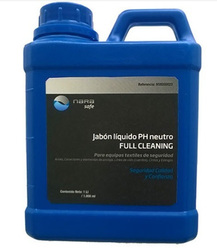 jabon liquido ph neutro para arneses eslingas x 2 unidades