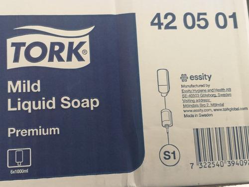 jabón líquido suave tork