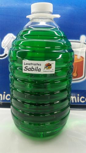 jabon liquido trastes sabila concentrado p/ 20lt plim36