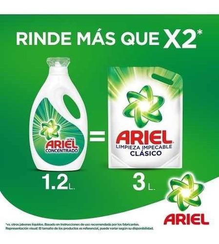 jabón líquido ultra concentrado para ropa ariel 1,2l
