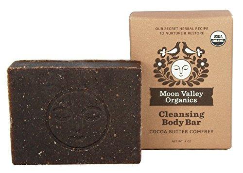 jabon manteca de cacao consuelda valle por luna organics