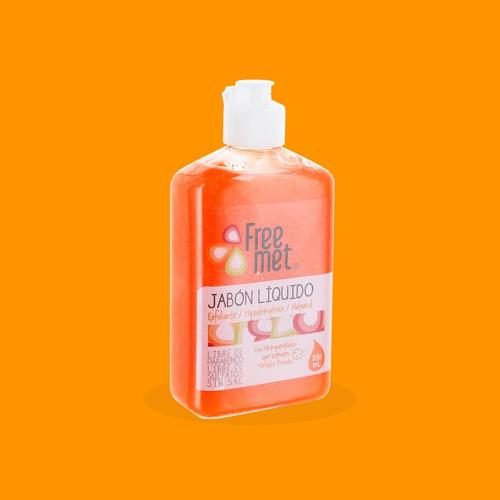 jabón natural exfoliante hipoalergénico cf freemet / oficial