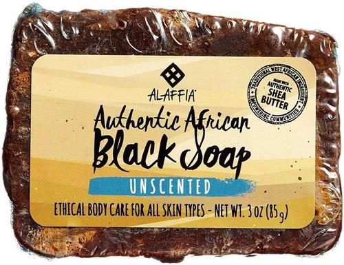 jabón negro africano jabón x85g