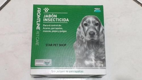 Jabon perros frontline sin pulgas y garrapatas star pet - Pulgas en casa sin animales ...