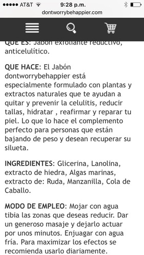 jabón reductivo anticelulitico