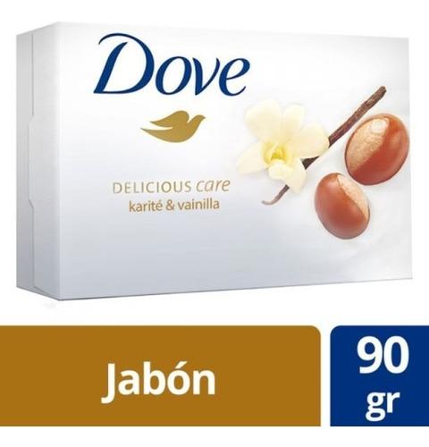 jabon tocador dove delicius care 90 grs.