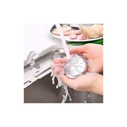 jabón y soporte genéricos de acero inoxidable + envio gratis