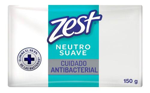 jabón zest antibacterial neutro individual 150g