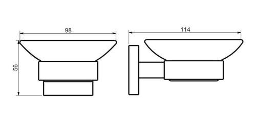 jabonera accesorio baño