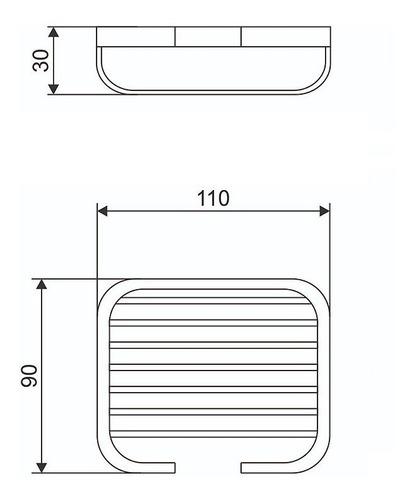 jabonera baño accesorio