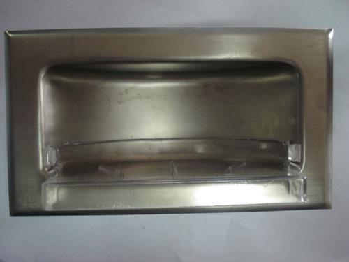 Jabonera de acero inoxidable bs en mercado libre for Jabonera acero inoxidable