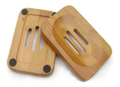 jabonera en bambú