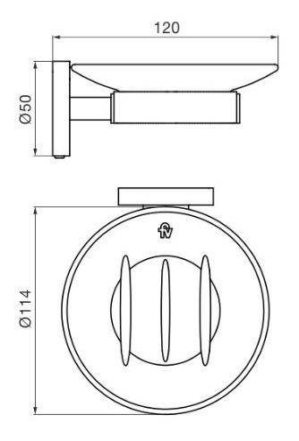 jabonera fv nebraska triades metalico 168/c3