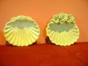 Jabonera Ostra De Ceramica Para Pintar Souvenier Regalo
