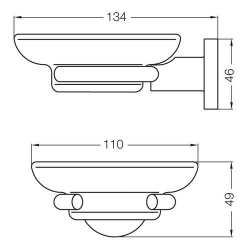 jabonera para aplicar libby 168/39 cromo fv