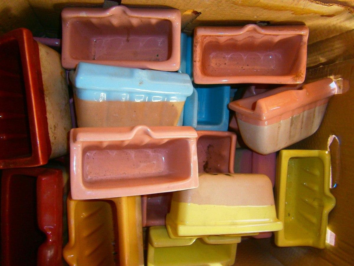 Jaboneras en porcelana para ba o diversos colores nuevas for Jaboneras para bano