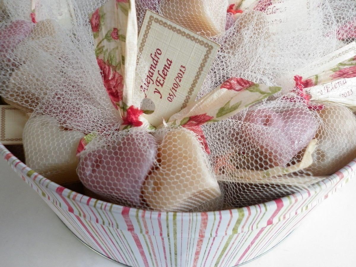 Jabones artesanales souvenirs cumplea os bodas exclusivos - Como hacer puff artesanales ...