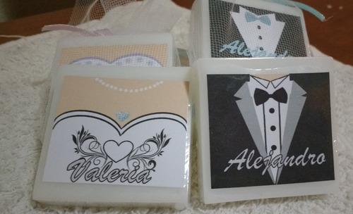 jabones para bodas