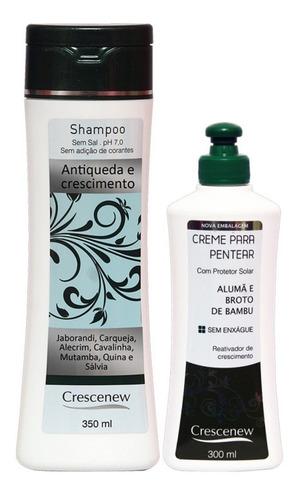 jaborandi para queda cabelo kit shampoo creme pentear