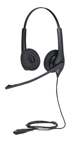 jabra biz 1500 duo, auricular profesional conbiz-1500-duo-qd