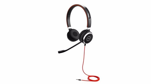 jabra evolve 40 uc estéreo con cable de auriculares