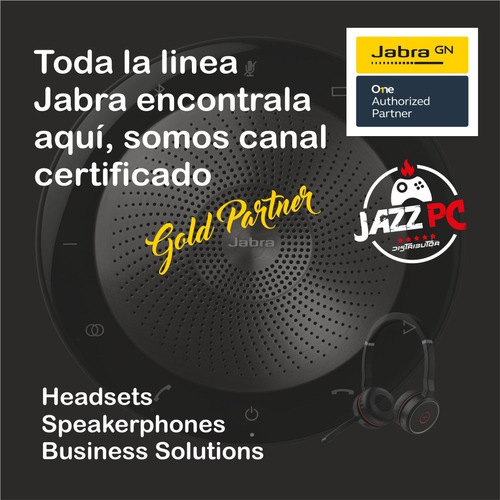 jabra speak 410ms altavoz parlante conferencia canal oficial jazz pc soluciones multimediales para empresas