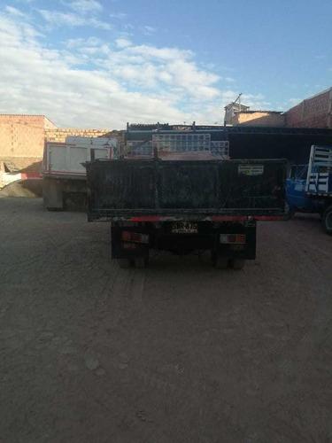 jac 1061 camion ferretero planchon volqueta