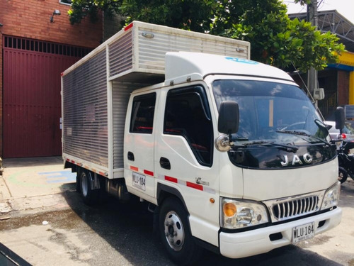 jac doble cabina camion 2015