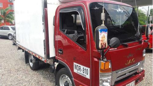 jac furgon aislado con termo king motor cummins como nueva