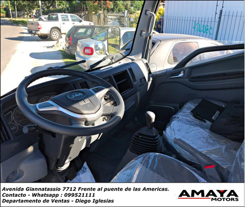 jac hfc 1035 abs a/a 2.8 furgon !! 1900kg de carga !! amaya