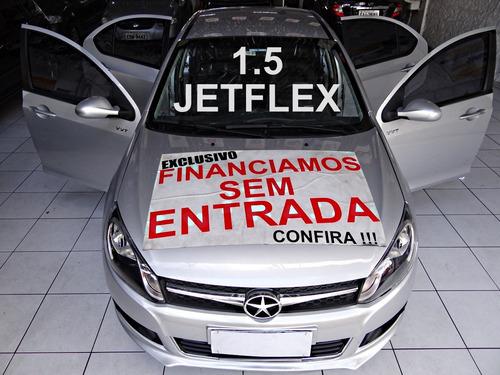 jac j3 turin 1.5 s jetflex 4p completíssimo / impecável