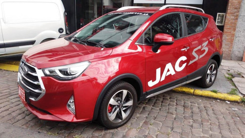 jac s3 intelligent 1.6 cvt bordó 6.820 km. 2019 test drive
