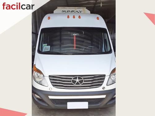 jac sunray minibus 2015 diesel u/dueño excelente estado!!
