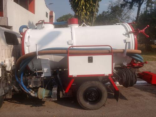 jac t140 combinado limpa fossa e hidrojateamento