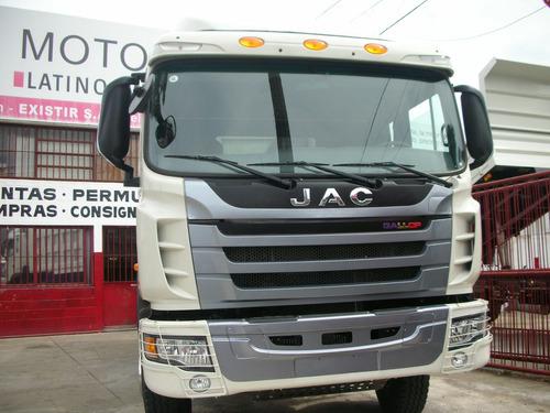 jac volcadora 336hp/6x4 camion/ entrega ya-cif u$s 70.000