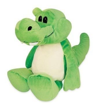 jacaré pelúcia sentado verde 22 cm antialérgico unissex