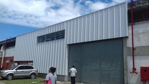 jacarepaguá - galpão com 660 m2 em condomínio fechado