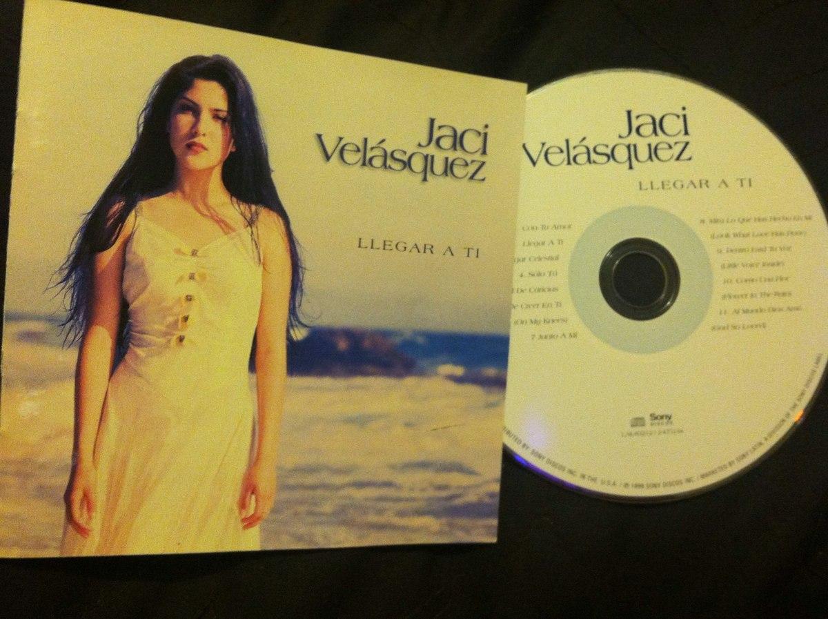 jaci velasquez llegar a ti cd