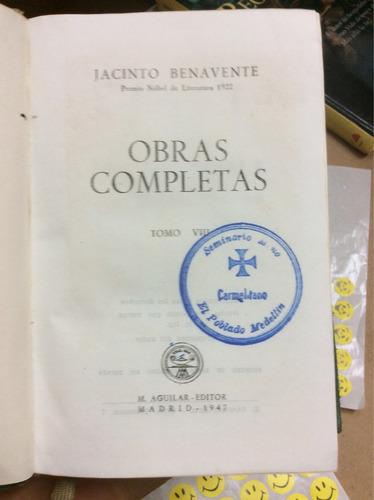jacinto benavente obras completas viii